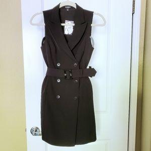 Express sleeveless Blazer Dress - Black- BNWT-XXS